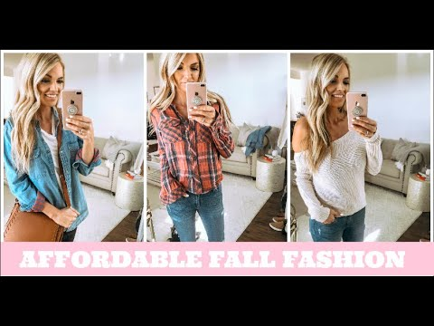 AMERICAN EAGLE FALL TRY ON HAUL 2018 || WHATS NEW AT AMERICAN EAGLE