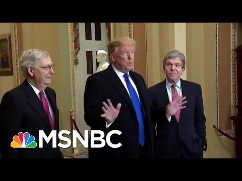 President Donald Trump Scrambles To Keep His Tax Returns Hidden From Review | Rachel Maddow | MSNBC