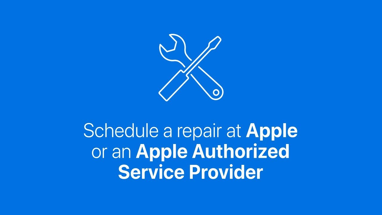 How to schedule a repair at an Apple Store or Apple Authorized Service Provider – Apple Support