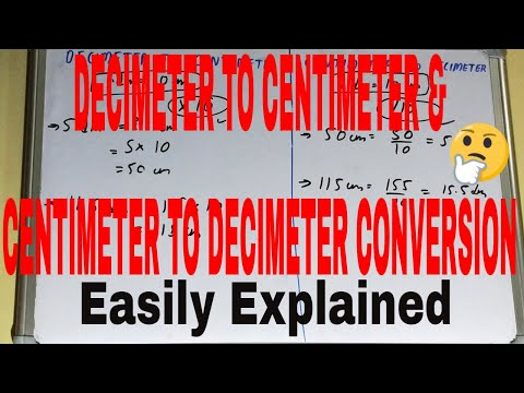 how-to-convert-dm-to-cm-and-cm-to-m|decimeter-to-centimeter|centimeter-to-decimeter-conversion