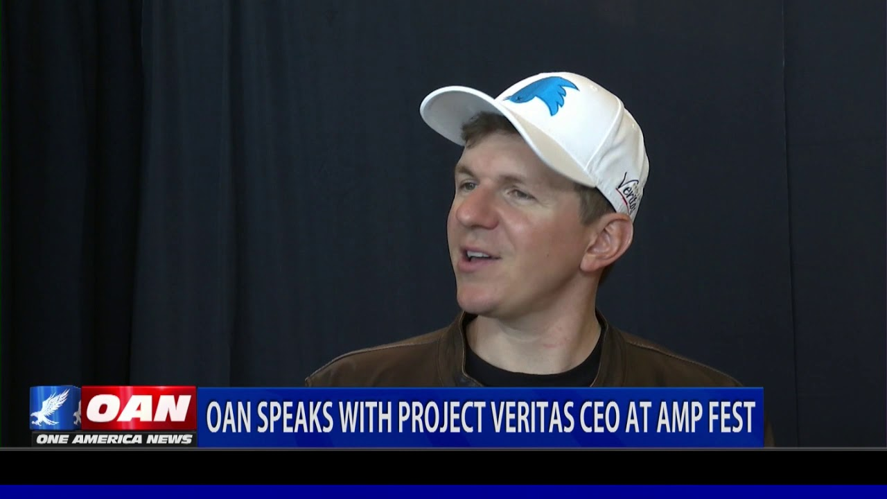 OAN speaks with Project Veritas CEO at AMP Fest