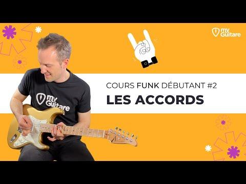 Cours de Funk débutant : les Accords du Funk #2