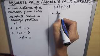 What is Absolute Value of a Number / Absolute Value of Integers