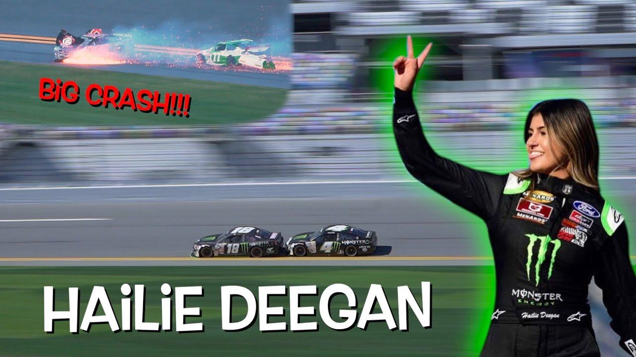 Download HAILIE DEEGAN'S FIRST RACE AT DAYTONA!!! Big crashes!