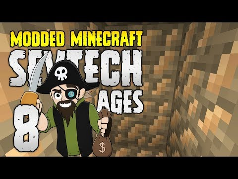 Minecraft SevTech: Ages | 8 | Getting METAL Rich! | Modded Minecraft 1.12.2