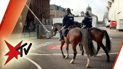 Reiterstaffel der Polizei Hamburg: Unterwegs beim Derby St. Pauli vs. HSV - die Reportage | stern TV