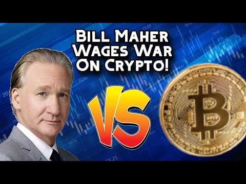Bill Maher Wages War on Cryptocurrency Bitcoin (BTC) + Cryptocurrency News!