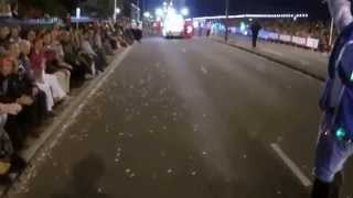 Chesterfield Musketeers Showband - Moonlight Parade - Jersey Battle of Flowers 2014 - Part 1