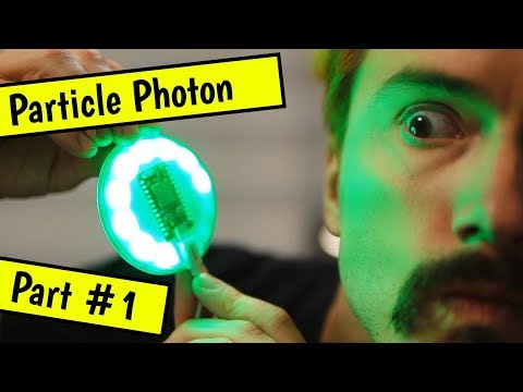 Coding on a Particle Photon Internet Button - Part #1
