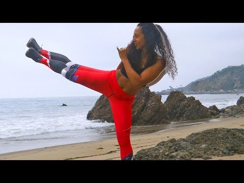 30 min Kickboxing | Fat Burning Kick Boxing Burn 300 Calories