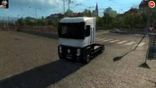 видео Скачать мод на тюнинг грузовика Renault Magnum для Euro Truck Simulator 2 1.12.1