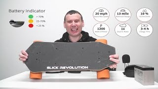 Slick Revolution ( i-Wonder ) Mini Electric Skateboard Review
