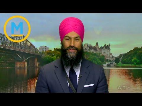 Meet NDP Leadership candidate Jagmeet Singh   Your Morning