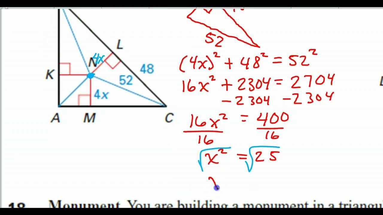 incenter and angle bisector problems youtube