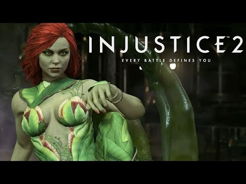 Injustice 2 - Official Poison Ivy Gameplay Trailer