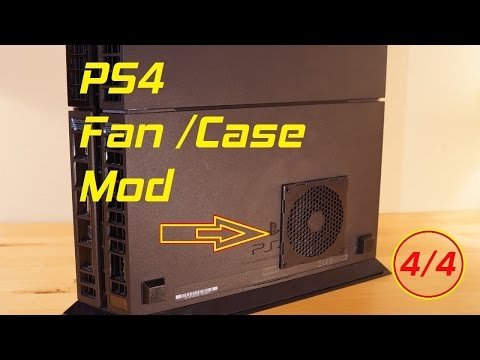 PS4 Fan / Case Mod + Thermal Paste Change UPDATE Tutorial (Part 4)