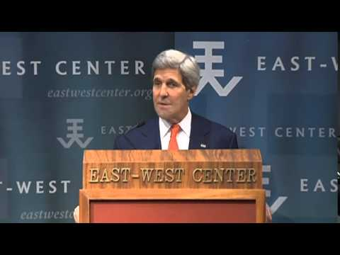 Secretary Kerry Delivers Remarks on U.S. Vision for Asia-Pacific Engagement