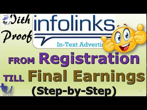 (With Proof) Infolinks - A to Z of Earning Money from Infolinks (Step-By-Step) [Urdu/Hindi]