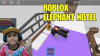 TIDUR DI ELEPHANT HOTEL | ROBLOX | DANISH EL HAMI