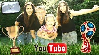 CHASSE AU TRESOR - JEU DE PISTE : Youtube cache un colis chez nous ! Trophée Argent PLAY BUTTON thumbnail