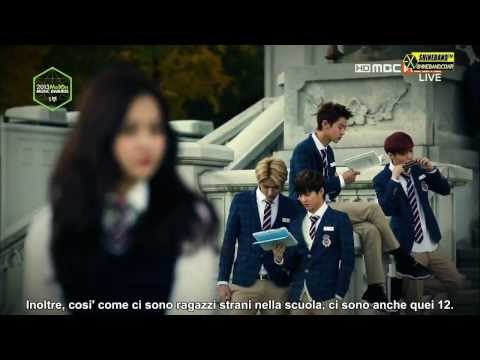 [SUB ITA] Melon Music Award 2013 with EXO ~ Drama VCR - Wolf - Growl