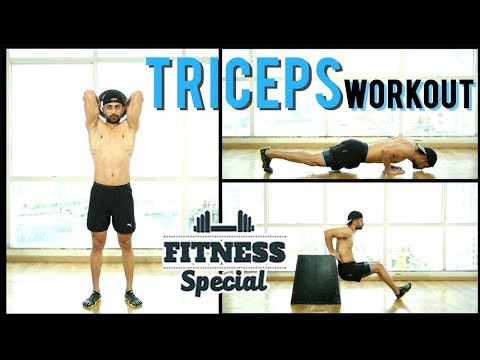 triceps workout  triceps workout for beginners  fitness