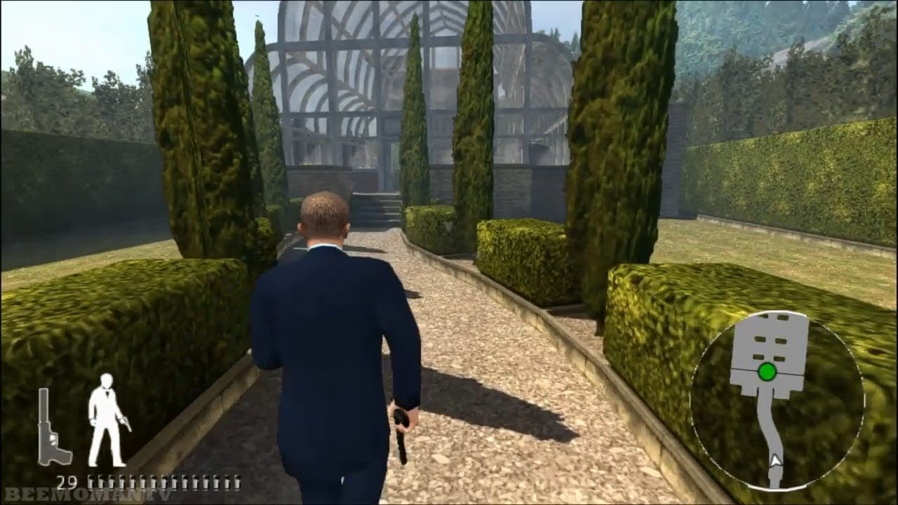 007 Quantum Of Solace Ps2 Walkthrough Part 1 White S Estate