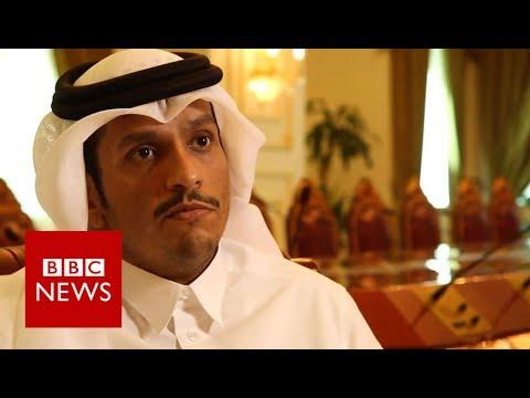 Qatar reacts to Trump tweet supporting Saudi Arabia - BBC News