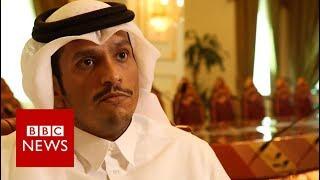 Qatar reacts to Trump tweet supporting Saudi Arabia   BBC News