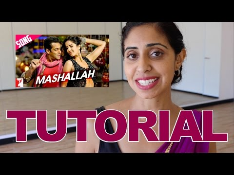 Mashallah ( Ek Tha Tiger) | Bollywood Dance Tutorial | Salman Khan | Katrina Kaif
