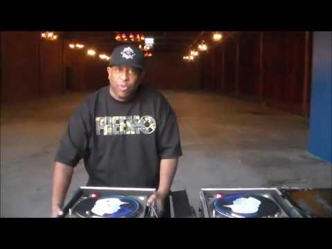 DJ Premier behind the scene at MC Eiht video shoot Respect Like This