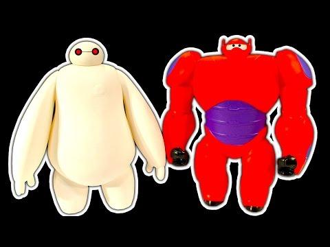 Big Hero 6 Baymax Dark Side Knock Off Toys Vs Scooby Doo Goo Crew Goosplosion