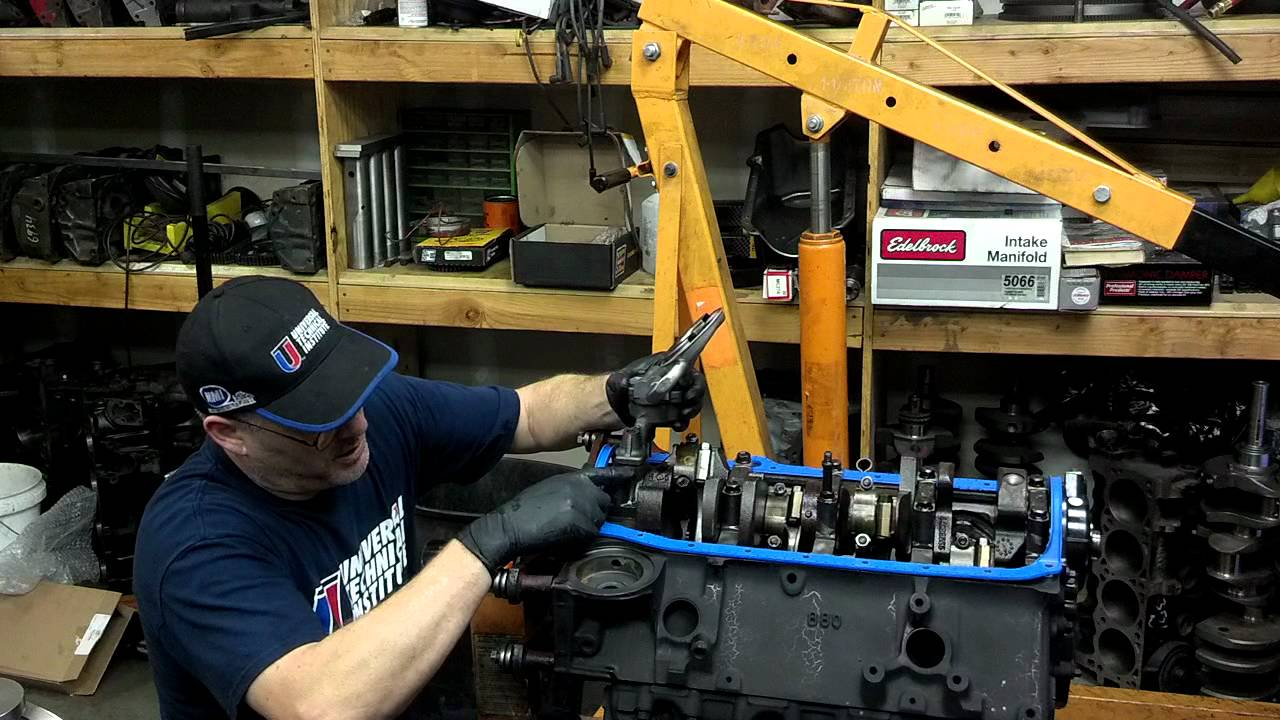 oil pump installation 350 chevy - youtube  youtube