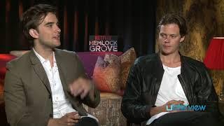 Bill Skarsgard & Landon Liboiron On 'Hemlock Grove', Gay Character Tension