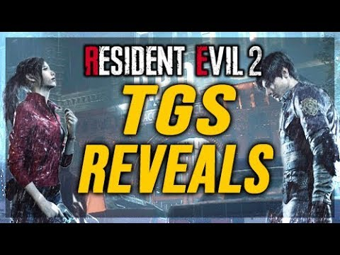 Resident Evil 2 Remake  - Leaked Claire Pictures - Tokyo Game Show Events & More