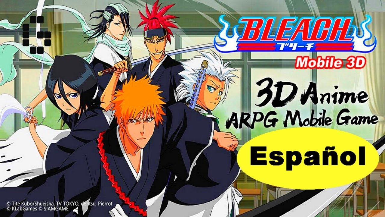 3D Anime Por por fin disponible en español bleach mobile 3d world para android gráficos  ultra hd