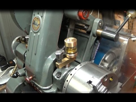 How To Make Good Quality Brass Wick Feed Machine Lathe Oilers