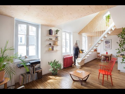 Single Level Apartment in France Turned into Welcoming Duplex | Studio mAAb | HD