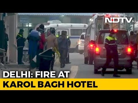 Child Among 17 Killed In Fire At Delhi Hotel, 2 Jumped From Terrace Mp3