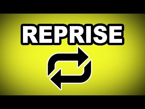 🔁 Learn English Words - REPRISE - Meaning, Vocabulary with Pictures and Examples