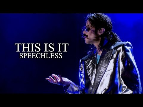 Download SPEECHLESS - This Is It - Soundalike Live Rehearsal - Michael Jackson