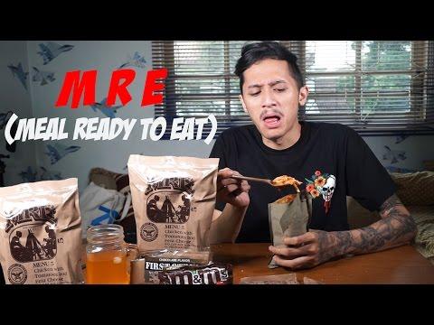 Makan Makanan Tentara Amerika   MRE Challenge