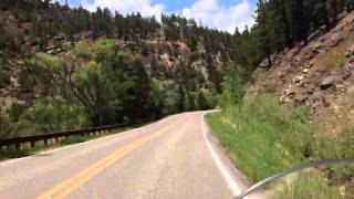 pecos river santa fe new mexico holy ghost campground ride