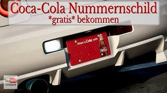 Need for Speed Payback - Coca Cola Nummernschild Aktion & Code