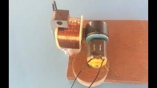 مولد الطاقة من 3.7 V DC إلى 27V AC