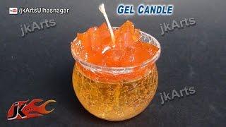How to make Gel Candle  | JK Arts 496