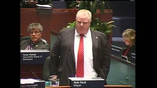 Mayor Ford compares council meeting to Kuwait invasion