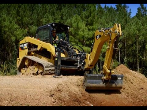 Cat® Backhoe Work Tool Attachment Overview