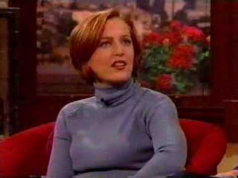 Gillian Anderson About Dating David Duchovny