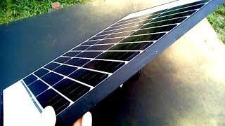 Mini Elektrownia Słoneczna Fotowoltaiczna Mieć Prąd za Darmo Baterie Ogniwa Panele Solarne PL